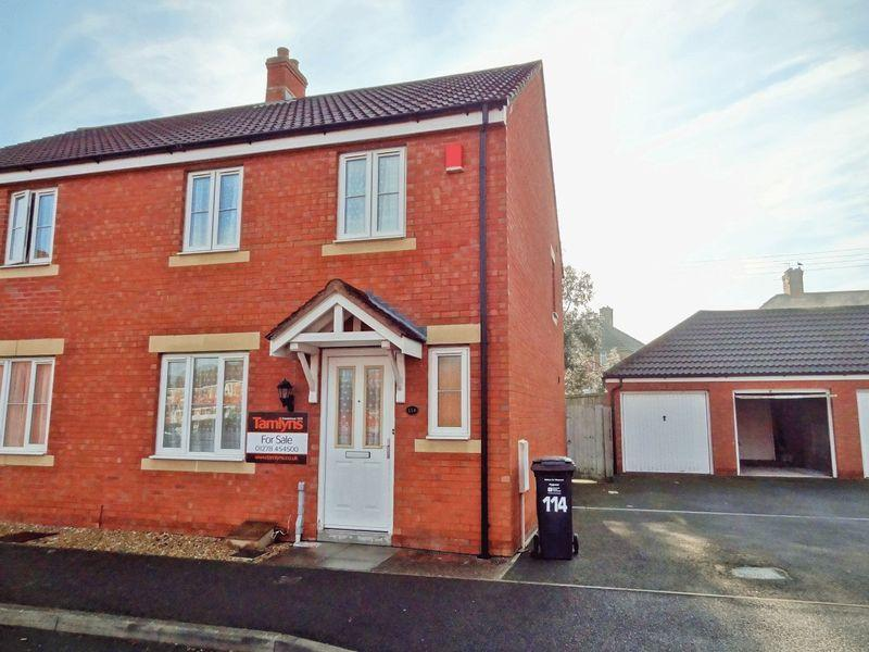 3 Bedrooms Semi Detached House for sale in Moravia Close, Bridgwater