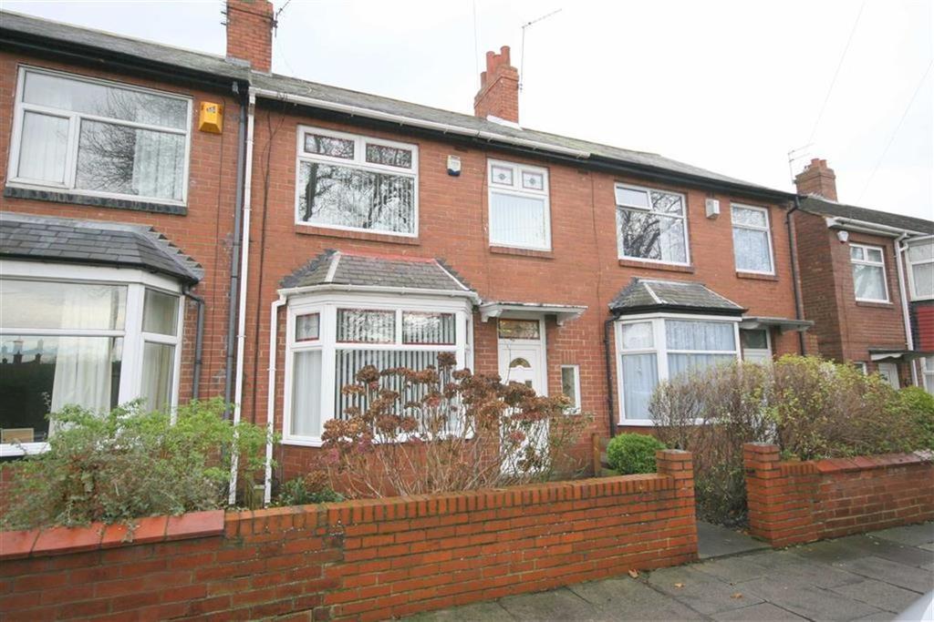 3 Bedrooms Terraced House for sale in Brightman Road, North Shields, Tyne Wear, NE29
