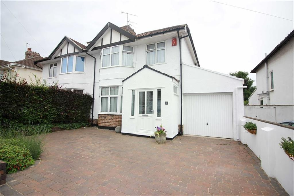 3 Bedrooms Semi Detached House for sale in Charis Avenue, Westbury On Trym, Bristol