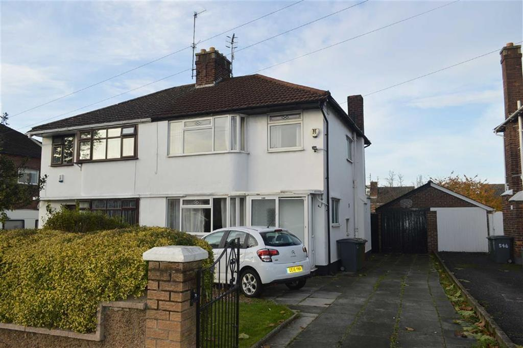 3 Bedrooms Semi Detached House for sale in Woodchurch Road, Prenton, CH43