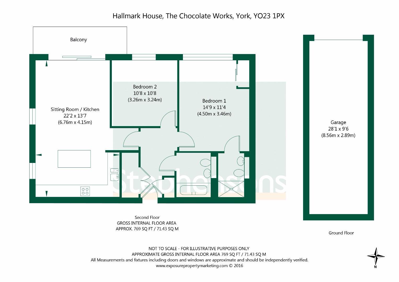 hallmark house the chocolate works york 2 bed house 315 000