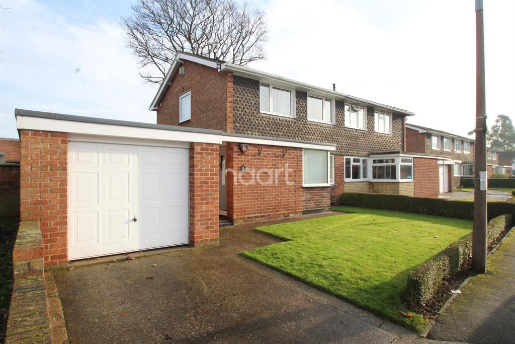 2 Bedrooms Semi Detached House for sale in Willis Close, Lincoln, LN1