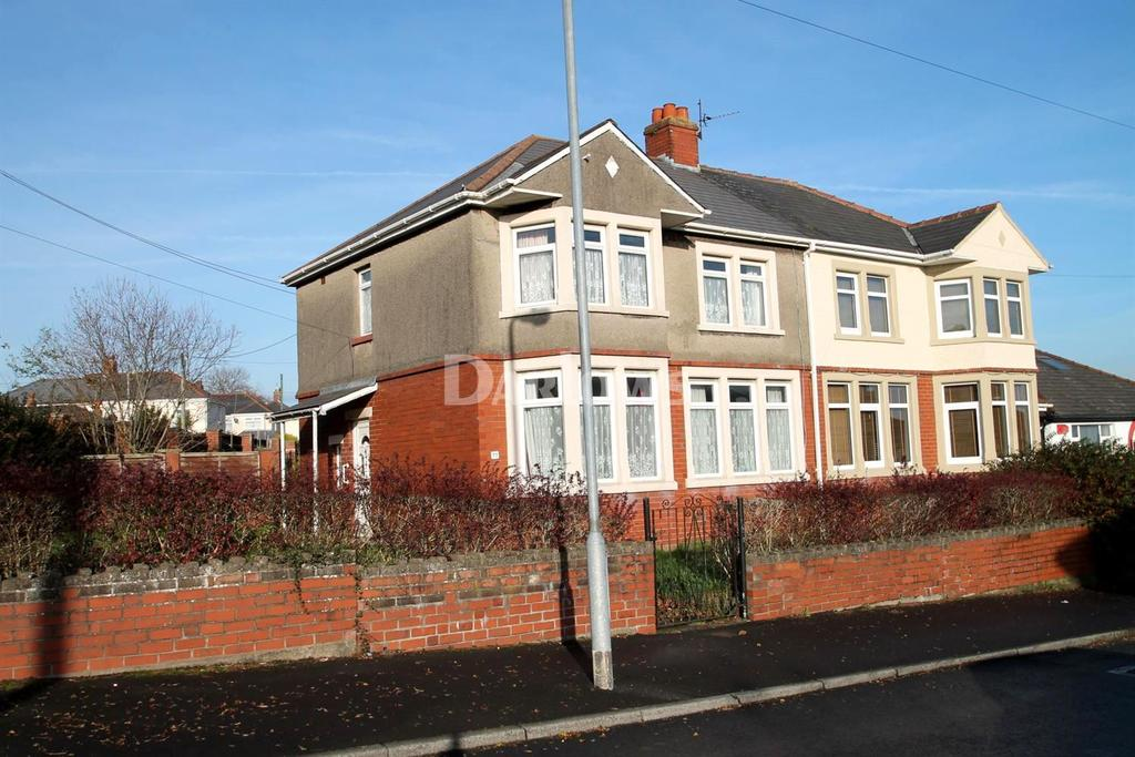 3 Bedrooms Semi Detached House for sale in Ty Fry Road, Rumney, Cardiff