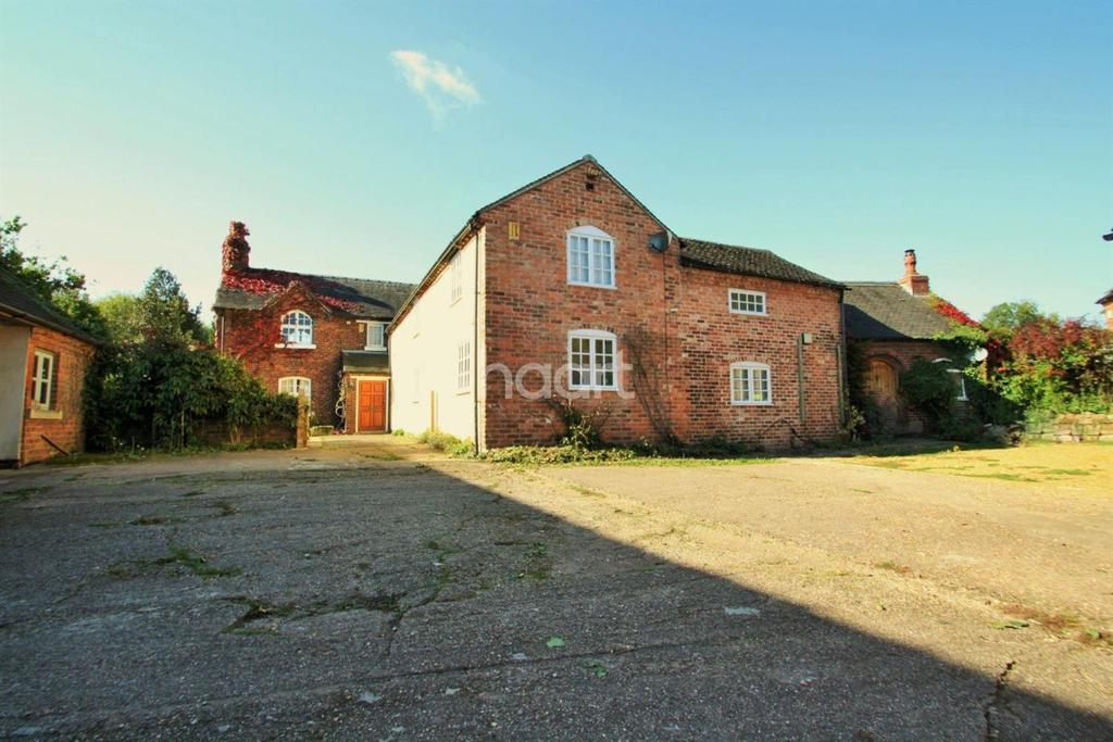 4 Bedrooms Detached House for sale in Farm house, Woodshop Lane, Swarkestone