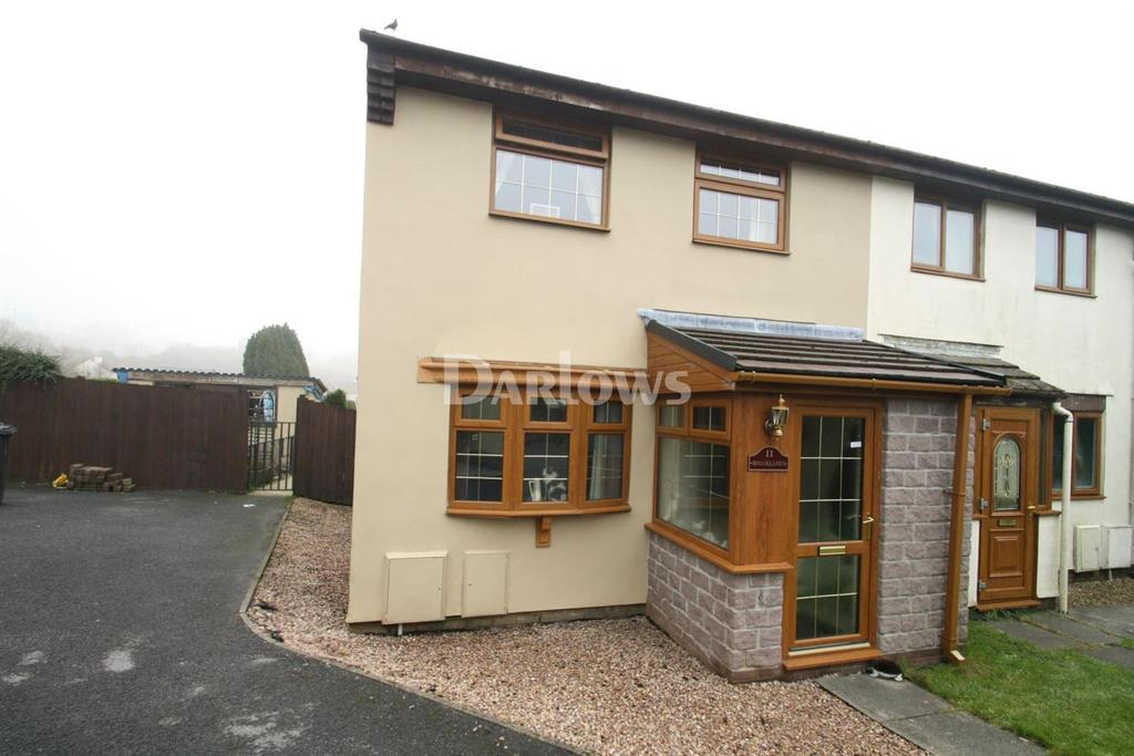 3 Bedrooms Semi Detached House for sale in St Lukes Road, Dukestown, Tredegar, Gwent