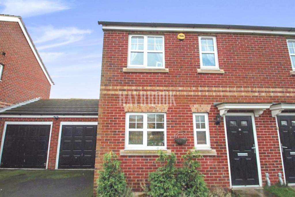3 Bedrooms Semi Detached House for sale in Woodcross Avenue, Grimethorpe