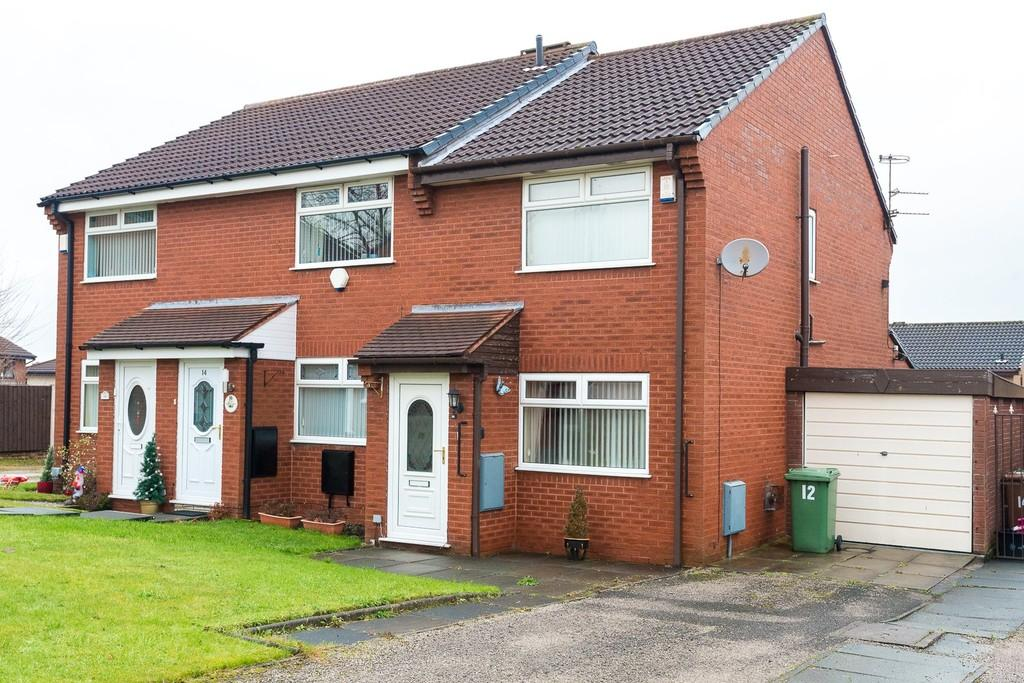 2 Bedrooms Semi Detached House for sale in Hopkins Close, Eccleston, St. Helens