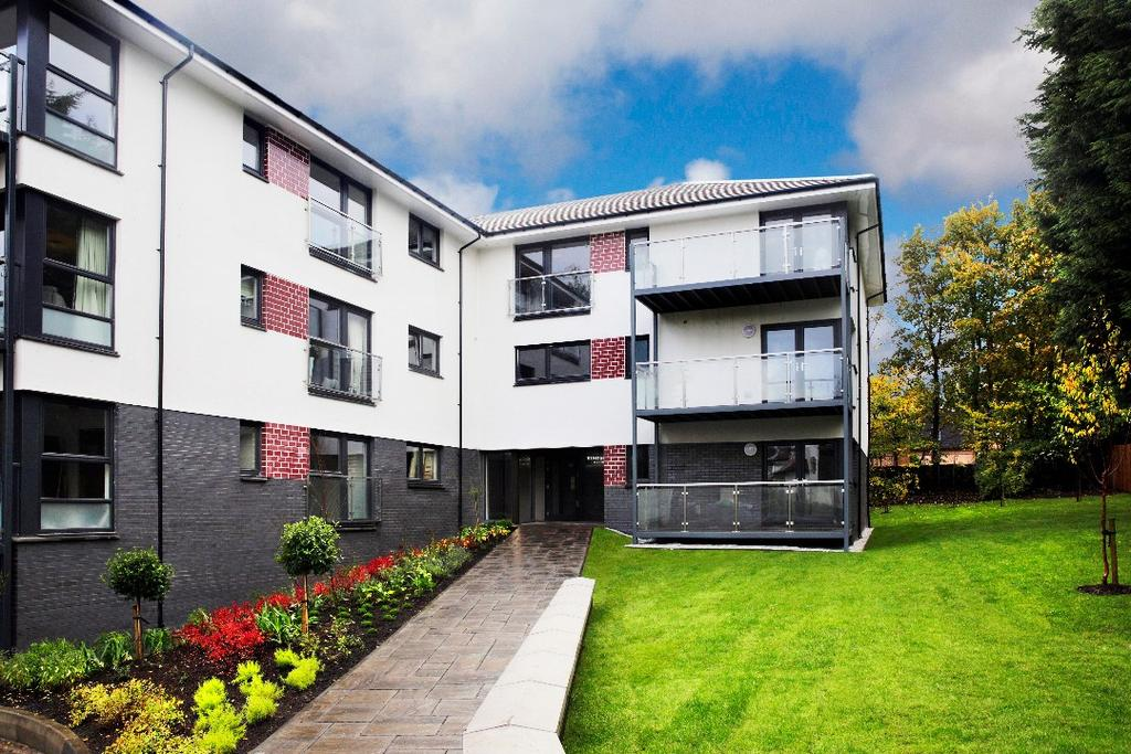 3 Bedrooms Flat for sale in Kingsland Gardens, Broompark Drive, Newton Mearns, Glasgow, G77 5DX