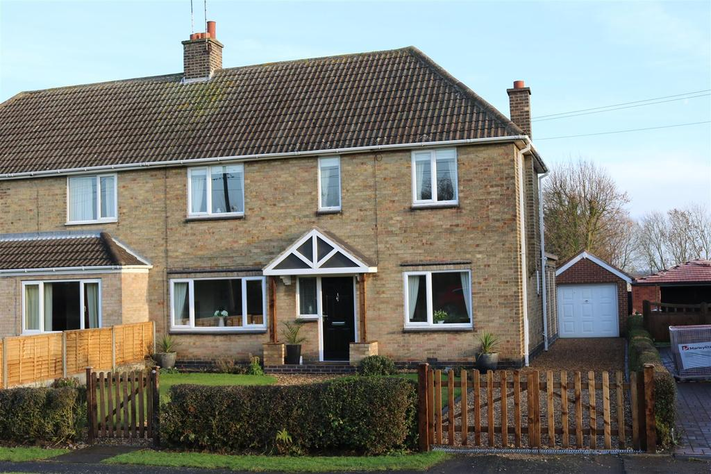 3 Bedrooms Semi Detached House for sale in Measham Road, Appleby Magna, Swadlincote