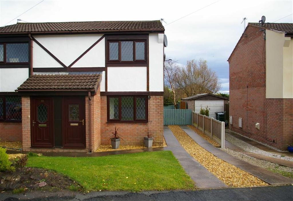 2 Bedrooms Semi Detached House for sale in Fron Uchaf, Upper Colwyn Bay, Colwyn Bay