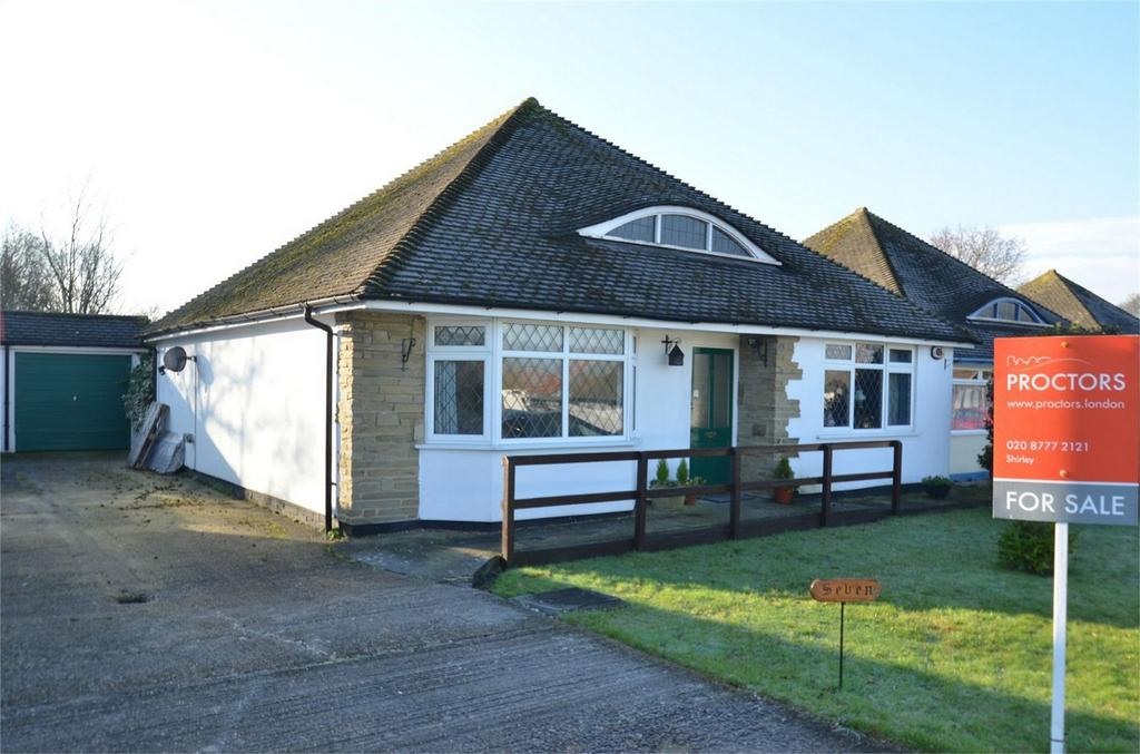 2 Bedrooms Detached Bungalow for sale in Mere End, Shirley, Croydon, Surrey