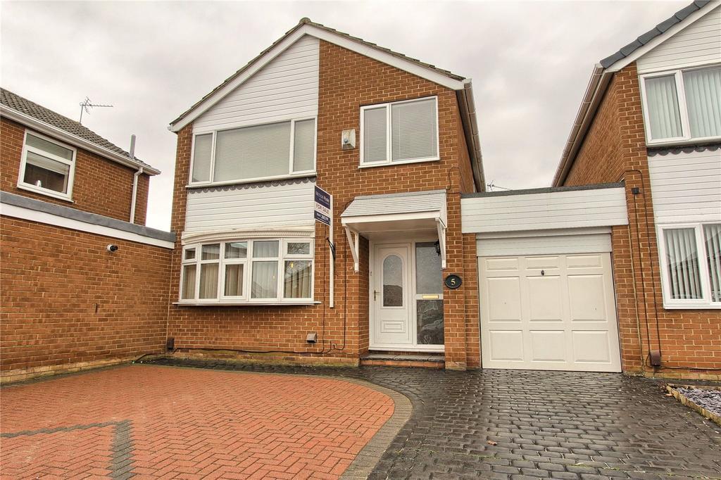 3 Bedrooms Link Detached House for sale in Axminster Road, Hemlington