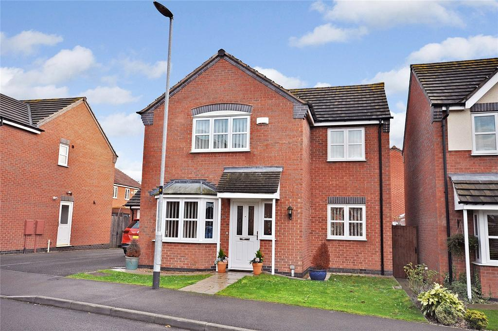 4 Bedrooms Detached House for sale in Valiant Way, Melton Mowbray, Leicestershire