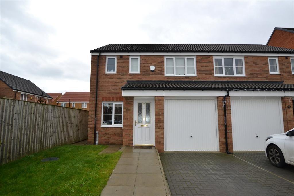 3 Bedrooms Semi Detached House for sale in Poppy Lane, Shotton, DH6