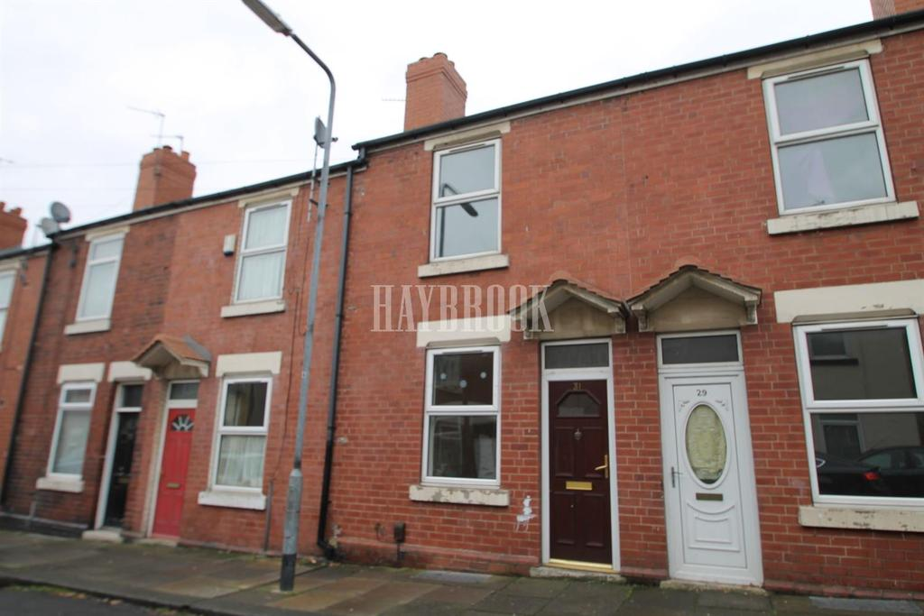 2 Bedrooms Terraced House for sale in Grosvenor Road, Eastwood