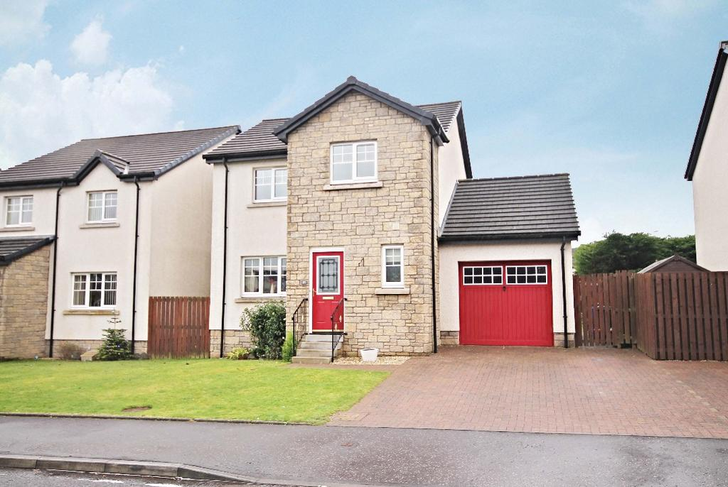 3 Bedrooms Detached House for sale in Craufurd Drive, Drongan, Ayrshire, KA6 7BH