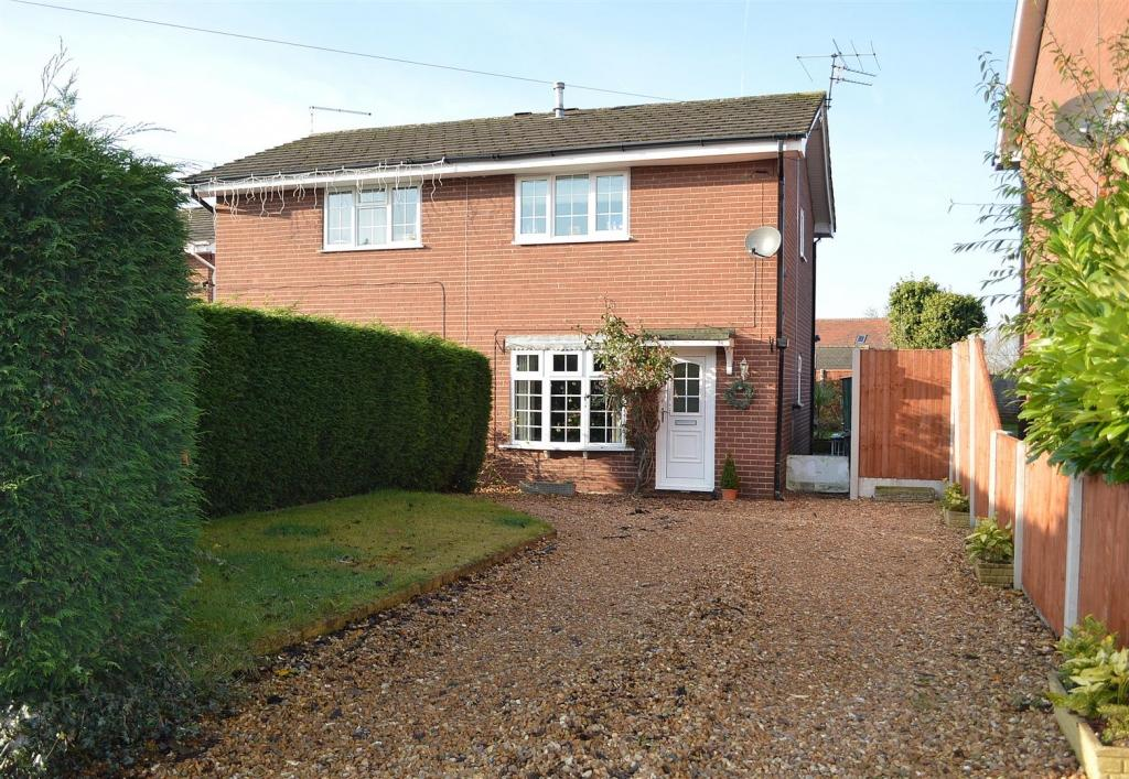 2 Bedrooms Semi Detached House for sale in Booth Avenue, Sandbach