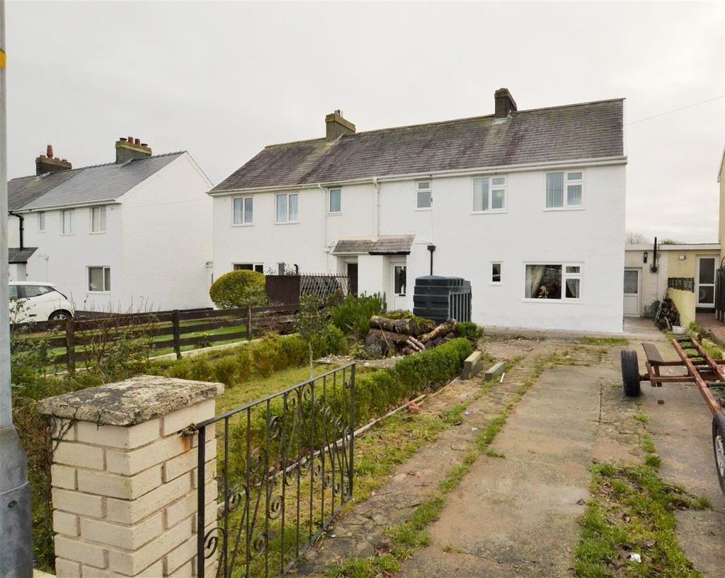 3 Bedrooms Semi Detached House for sale in Freystrop