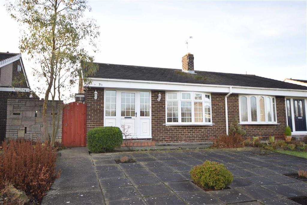3 Bedrooms Semi Detached Bungalow for sale in Holland Park Drive, Jarrow