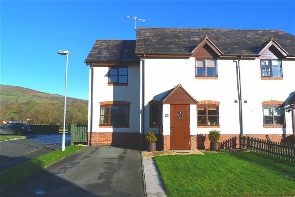 3 Bedrooms Semi Detached House for sale in Y Ddol, Penybontfawr, Oswestry, SY10