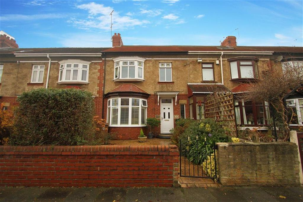 3 Bedrooms Terraced House for sale in Richmond Terrace, Whitley Bay, Tyne And Wear