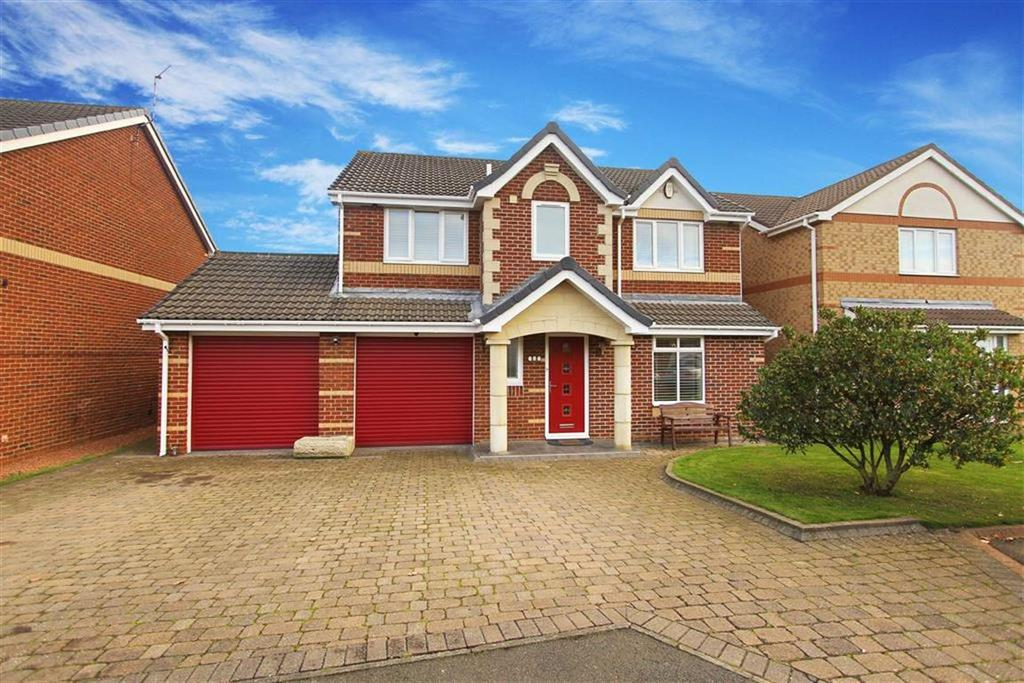 4 Bedrooms Detached House for sale in Abbots Way, North Shields, Tyne And Wear
