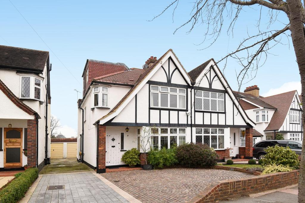 4 Bedrooms Semi Detached House for sale in Braemar Gardens, West Wickham, BR4