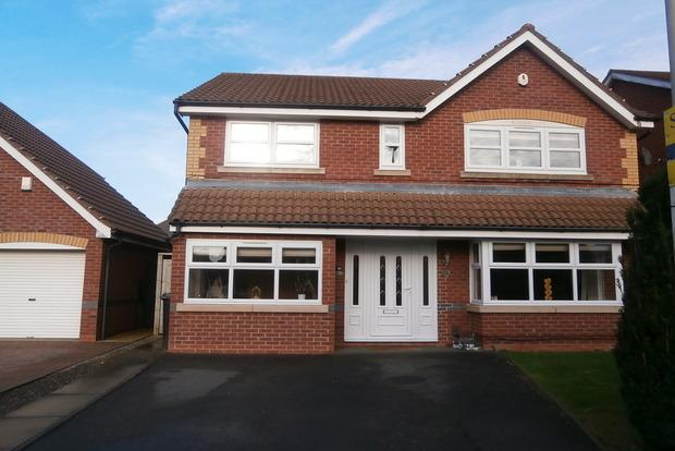 4 Bedrooms Detached House for sale in Coltsfoot Road, Hamilton, Leicester, LE5