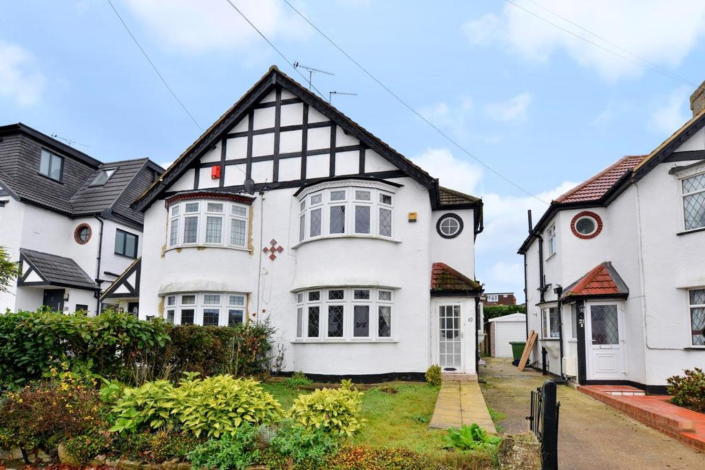 3 Bedrooms Semi Detached House for sale in Hayes Wood Avenue, Hayes, BR2