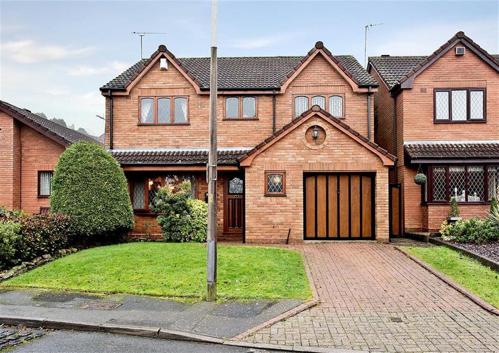 4 Bedrooms Detached House for sale in 1, Foxlands Drive, Upper Gornal, Dudley, West Midlands, DY3