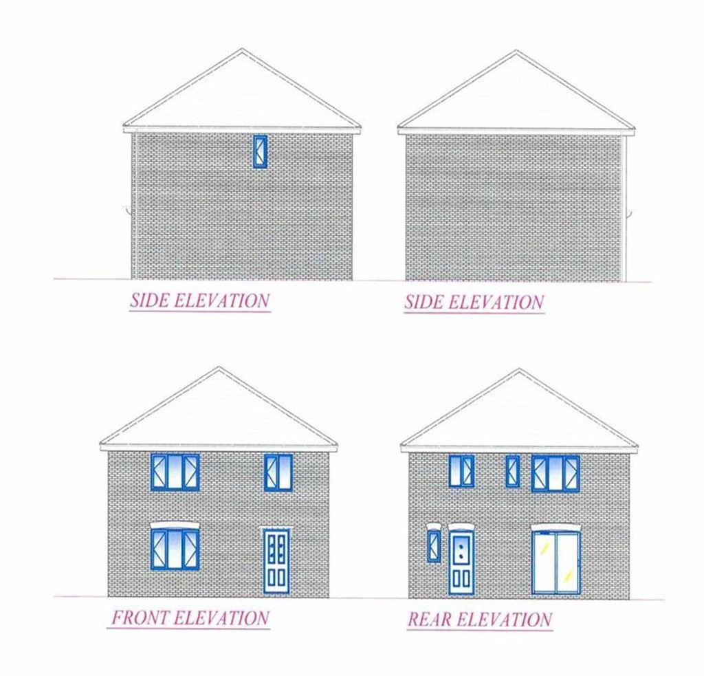 3 Bedrooms Detached House for sale in Spalding Road Plot, Holbeach