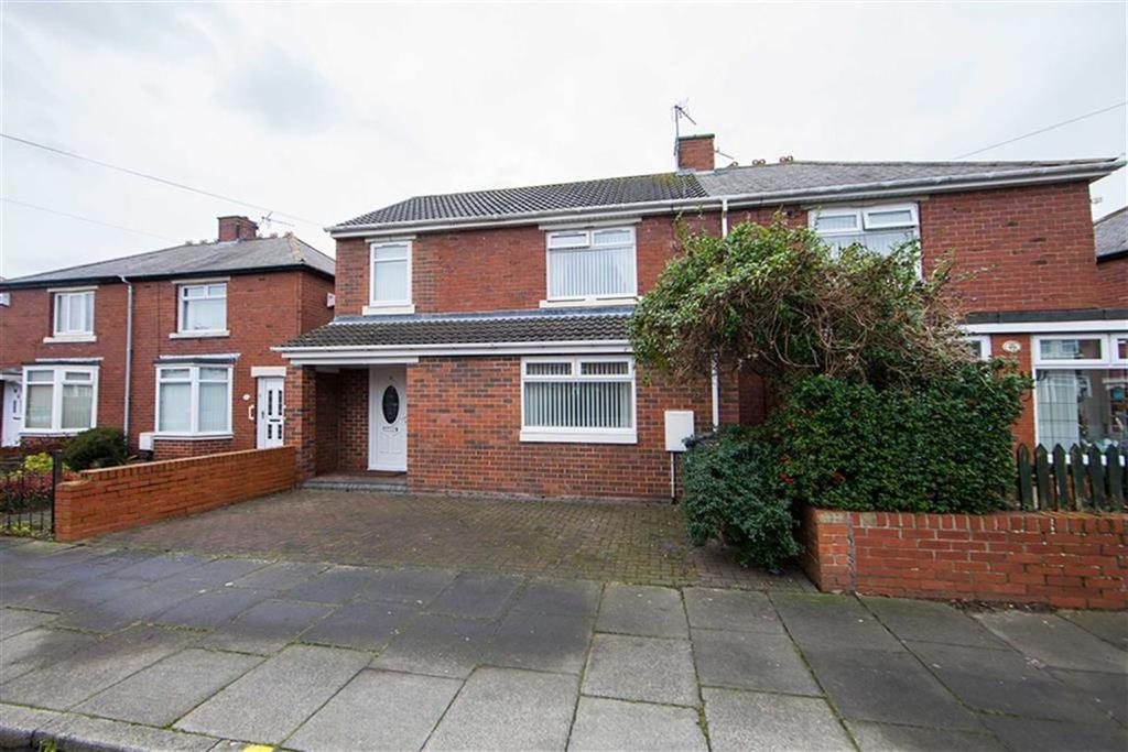 3 Bedrooms Semi Detached House for sale in Mullen Road, High Farm, Wallsend, NE28
