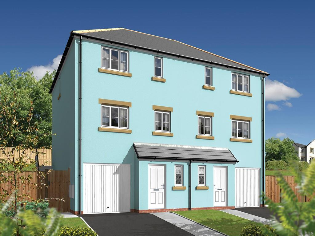 3 Bedrooms Semi Detached House for sale in Withnoe Farm, Launceston