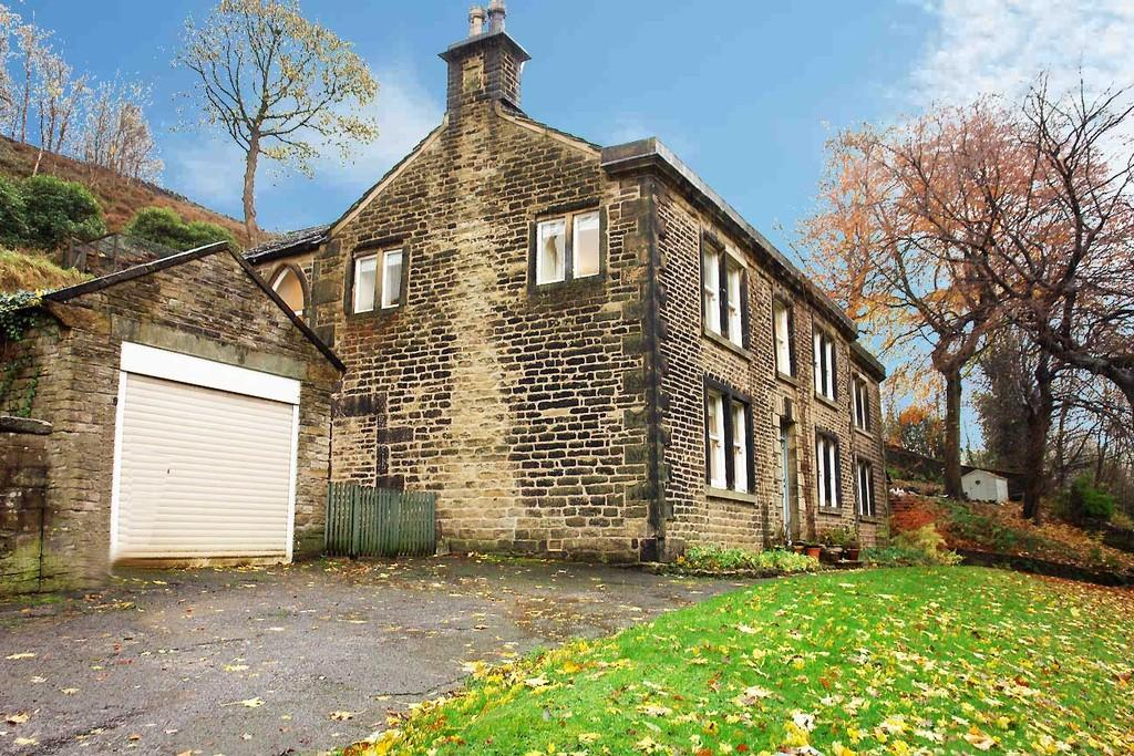 4 Bedrooms Semi Detached House for sale in Hill End House, Hill End Road, Delph, Saddleworth