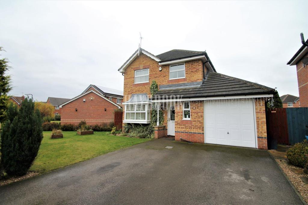 3 Bedrooms Detached House for sale in Gorse Close, Brampton Bierlow