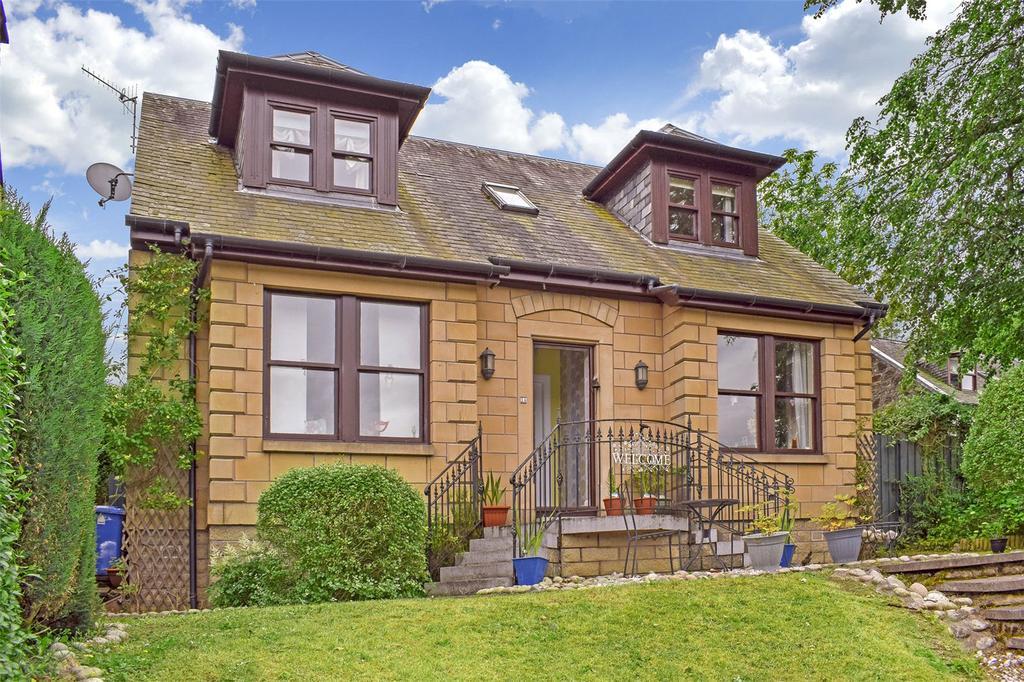4 Bedrooms Detached House for sale in West Cottage, 1a Alexandra Street, Devonside, Tillicoultry, FK13