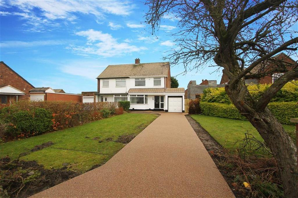 3 Bedrooms Semi Detached House for sale in Horsley Avenue, Shiremoor, Tyne And Wear