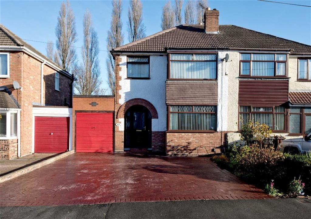3 Bedrooms Semi Detached House for sale in 17, Fairview Grove, Wednesfield, Wolverhampton, West Midlands, WV11