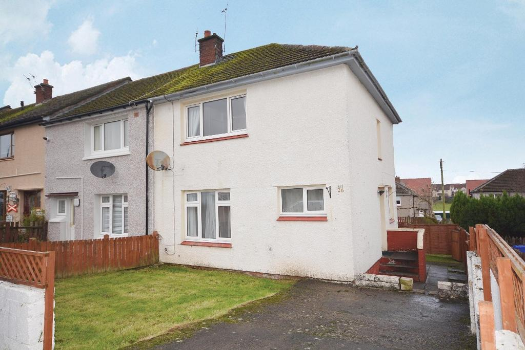 3 Bedrooms Terraced House for sale in Queen Street, Bannockburn, Stirling, FK7 0JF