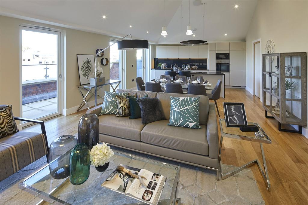 3 Bedrooms Penthouse Flat for sale in Apartment 47, Huller Cheese, Redcliff Backs, Bristol, BS1