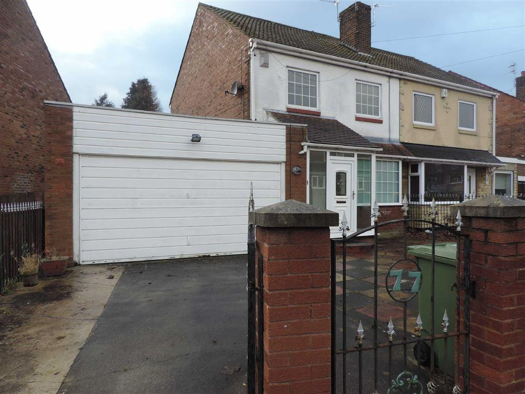 3 Bedrooms Semi Detached House for sale in Alwinton Gardens, Lobley Hill, Tyne And Wear