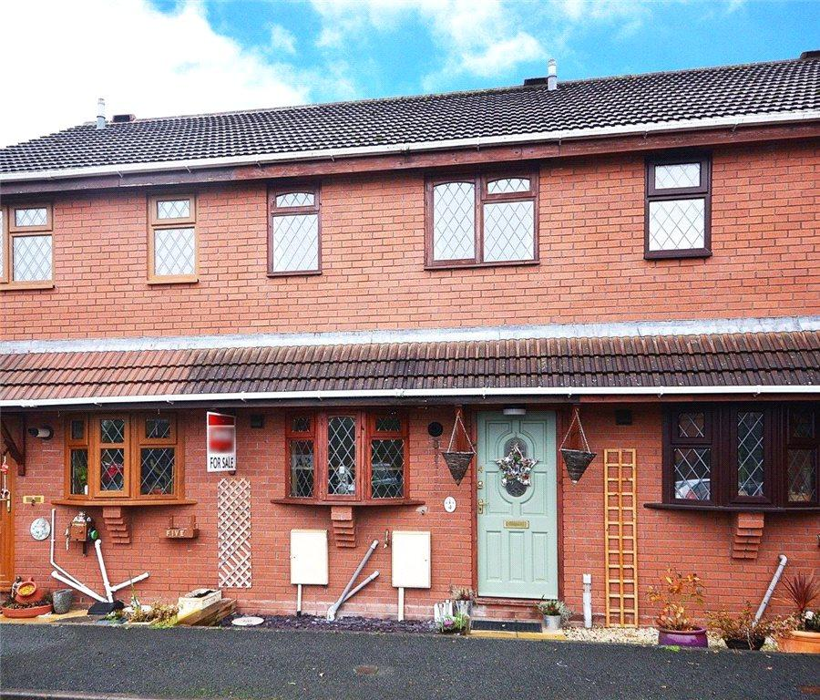 2 Bedrooms Terraced House for sale in Abbotts Close, Stourport-on-Severn, DY13