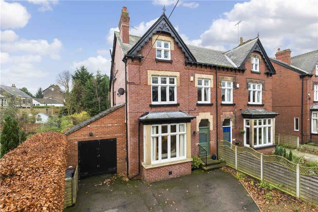 5 Bedrooms Semi Detached House for sale in Lidgett Park Road, Roundhay, Leeds