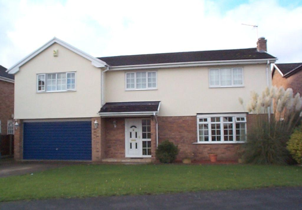 5 Bedrooms Detached House for sale in Ffordd Ystrad, Coed Y Glyn, Wrexham