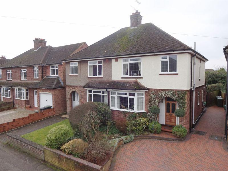3 Bedrooms Semi Detached House for sale in Grange Road, Ampthill