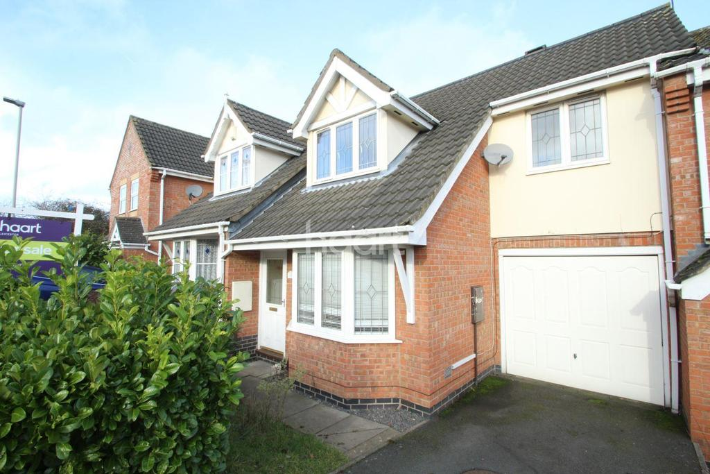 3 Bedrooms Terraced House for sale in Samphire Close, Hamilton, Leicester
