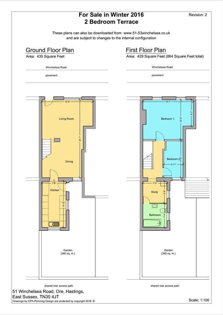2 Bedrooms Flat for sale in Winchelsea Road, Hastings TN35