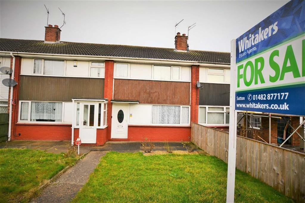 3 Bedrooms Terraced House for sale in Garrick Close, Ings Road Estate, Hull, HU8
