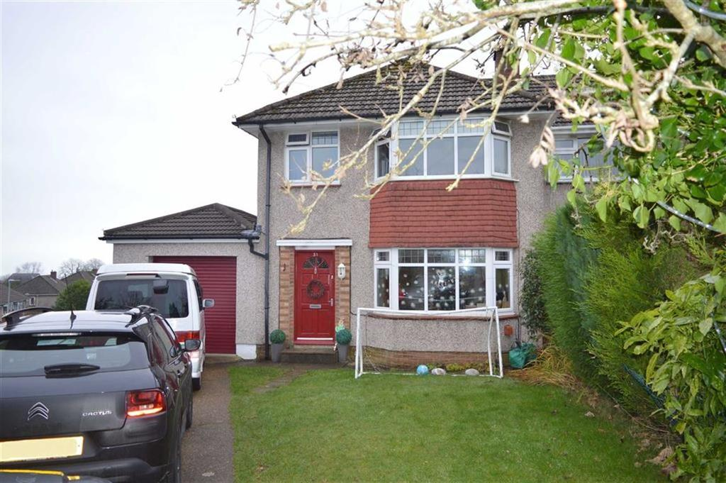 3 Bedrooms Semi Detached House for sale in Muirfield Drive, Mayals, Swansea