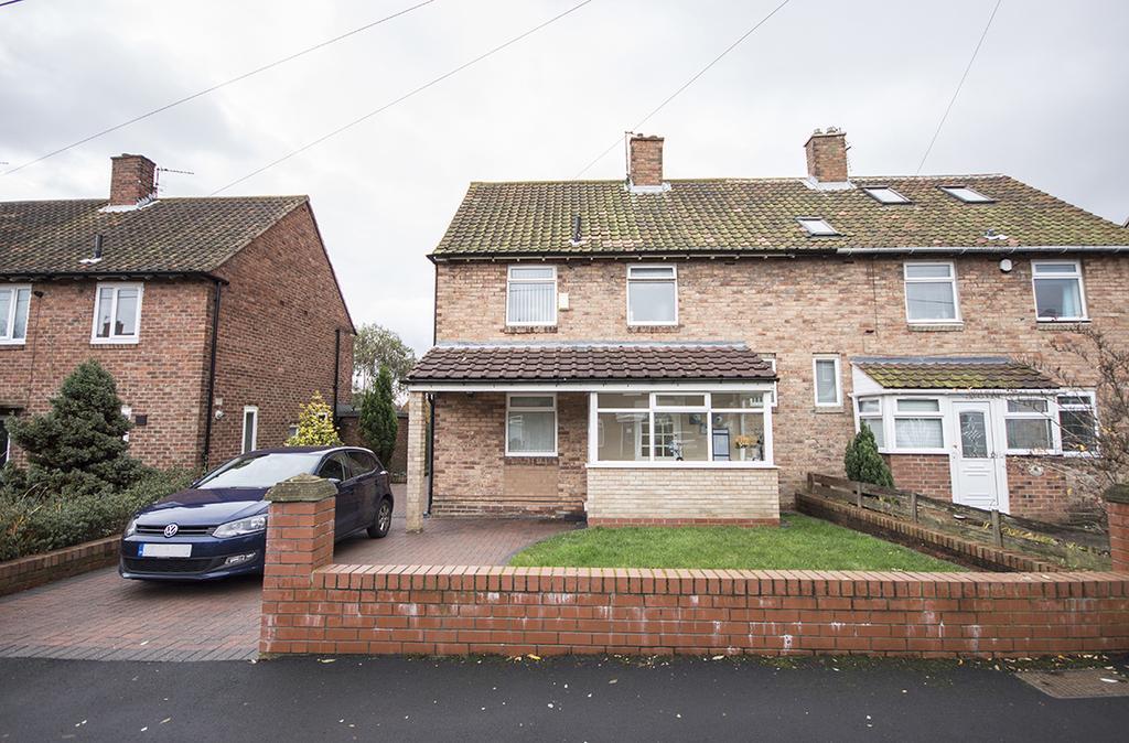3 Bedrooms Semi Detached House for sale in 9 Drummond Road, Kenton, Newcastle upon Tyne NE3